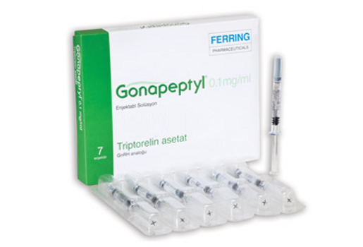 GONAPEPTYL SOLUTION INJ. 0.1 MG SYRINGE 7PIECES X1ML