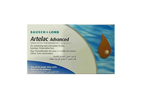 ARTELAC ADVANCED EYE DROPS *