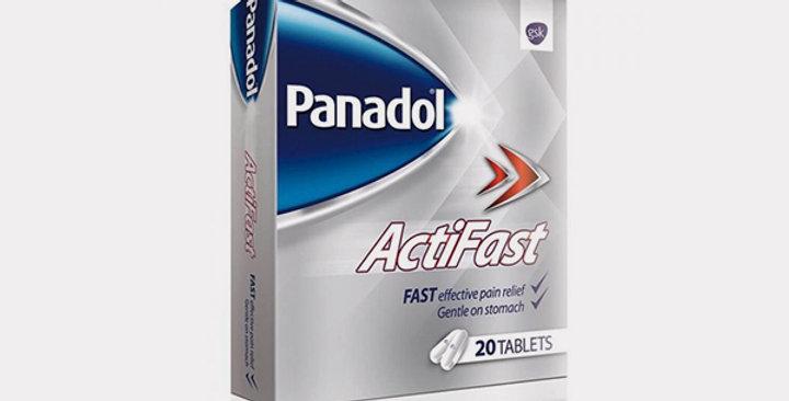 PANADOL ACTIFAST TAB 20'S