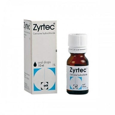 ZYRTEC 1% DROPS 10ML