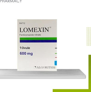LOMEXIN 600 MG OVULE 1S