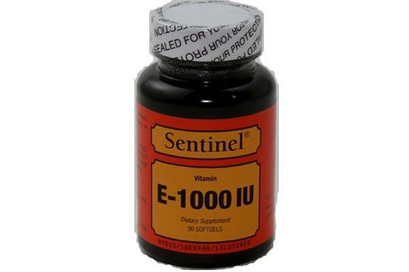 SENTINEL VITAMIN E 1000IU 50 CAPSULES