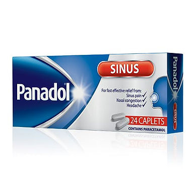 PANADOL SINUS TAB 24'S