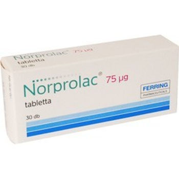 NORPROLAC 75 MCG 30 TABLETS