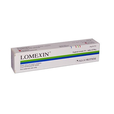 LOMEXIN 2% TOPICAL CREAM 30GM