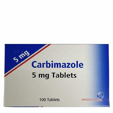 CARBIMAZOLE 5MG TAB 100