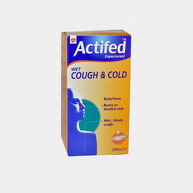 ACTIFED EXPT. SYRUP 200ML