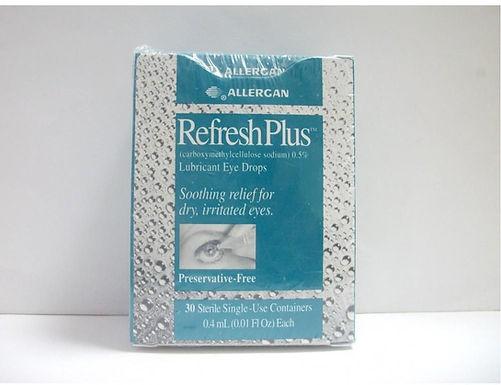 REFRESH PLUS E/DROPS 30*0.4ML