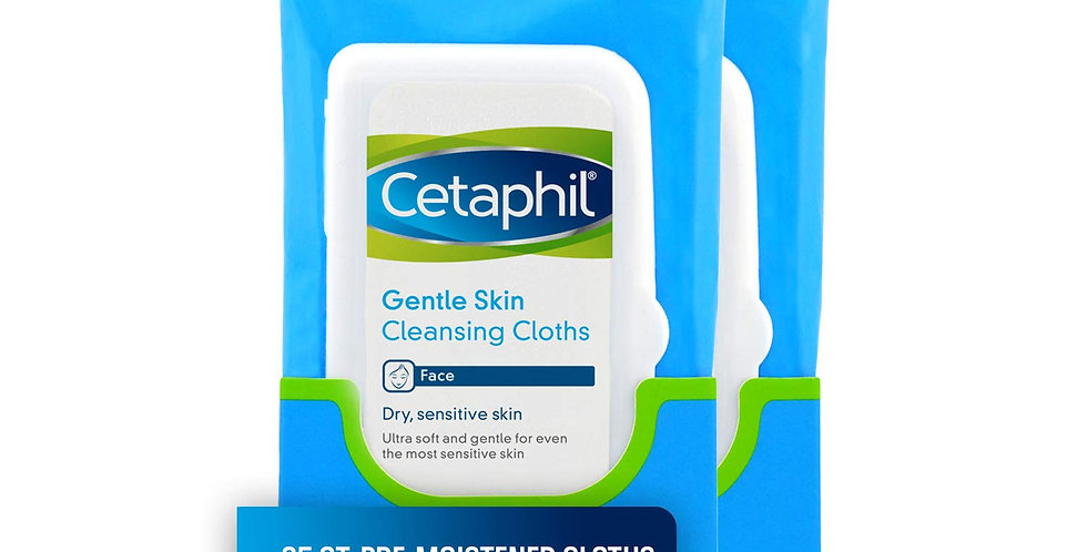 CETAPHIL GENTLE SKIN CLEANSING CLOTH 25 PIECES