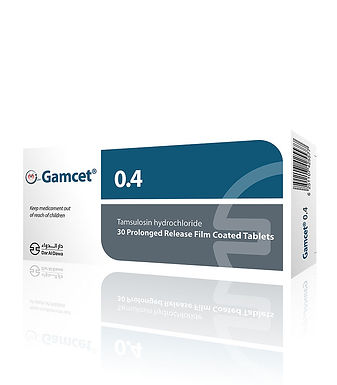 GAMCET 0.4MG PROLONGED RELEASE 30 TABLETS