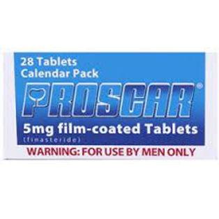 PROSCAR 5MG 28 TABLETS