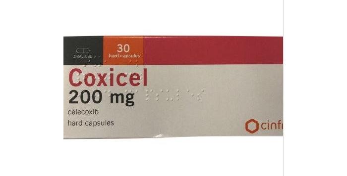 COXICEL 200MG CAPS 30'