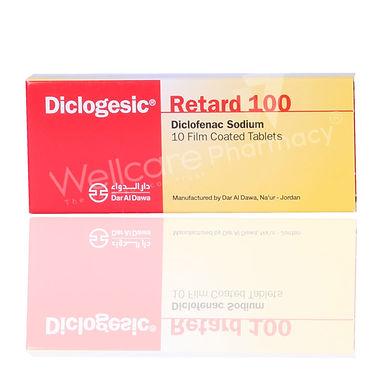 DICLOGESIC RETARD 100MG 10 TABLETS