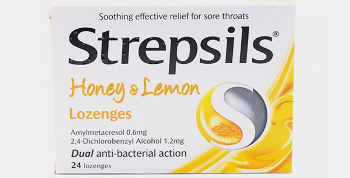 STREPSILS HONEY & LEMON LOZ 24'S