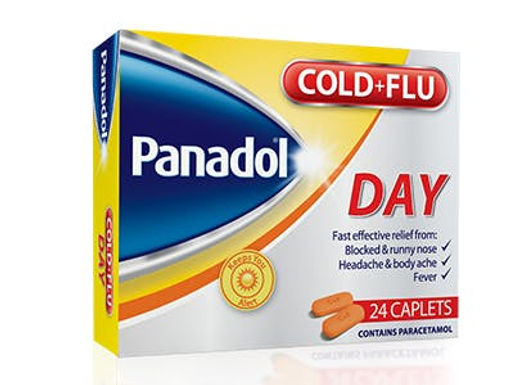 PANADOL COLD+FLU DAY TAB 24'S