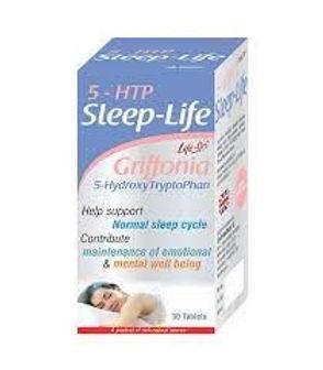 LIFE-ON 5-HTP Sleep-Life Tablets