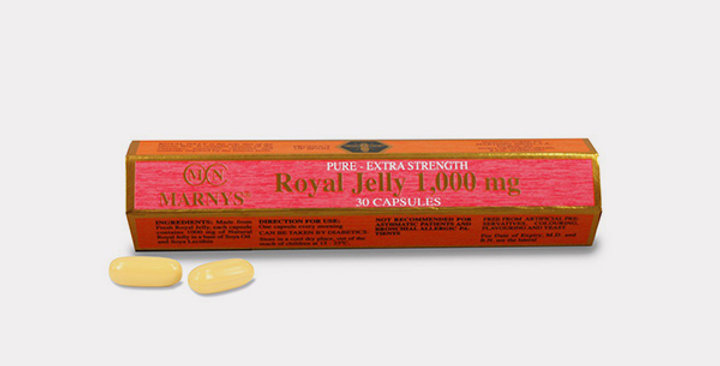 MARNYS FRESH ROYAL JELLY 1000 MG CAP (TUBE)