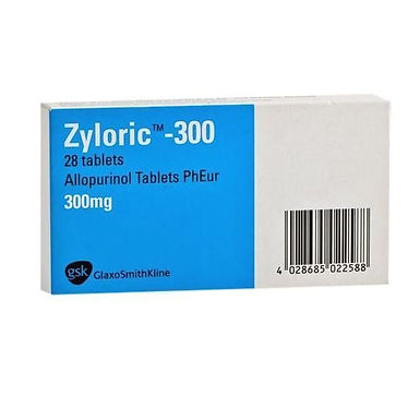 ZYLORIC 300MG TAB 28'S *