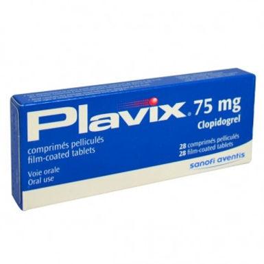 PLAVIX 75MG TAB 28'S *