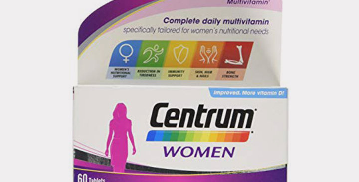 CENTRUM WOMEN MULTIVITAMINE TAB 60`S