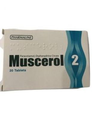 MUSCEROL 2 TAB 20'S
