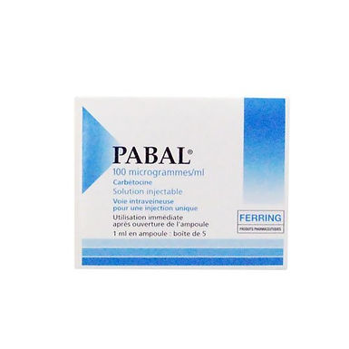 PABAL INJ. 100 MCG / ML AMP. 5 X 1ML