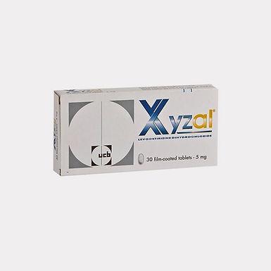 XYZAL 5MG TAB 30'S