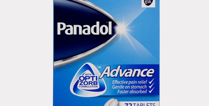 PANADOL ADVANCE 500MG TAB 72'S