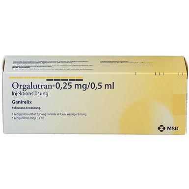 ORGALUTRAN 0.25MG /0.5ML