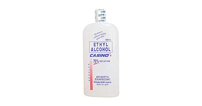 CASINO ETHYL ALCOHOL 70 REGULAR 500 ml