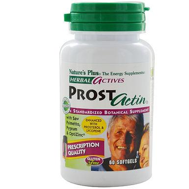 NATURES PLUS PROST ACTIN SOFTGELS 60 PIECES