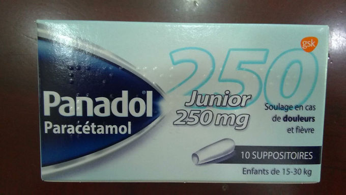 PANADOL BABY SUPPOSITORIES 250MG 10'