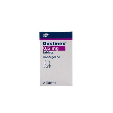 DOSTINEX 0.5MG 2 TABLETS