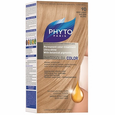 PHYTOCOLOR 9D VERY LIGHT GOLDEN BLOND