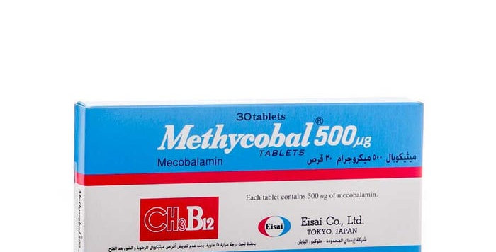 METHYCOBAL 500MG TAB 30'S