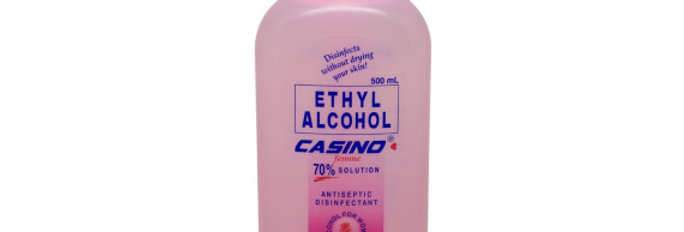CASINO ETHYL ALCOHOL 70% SOLUTION