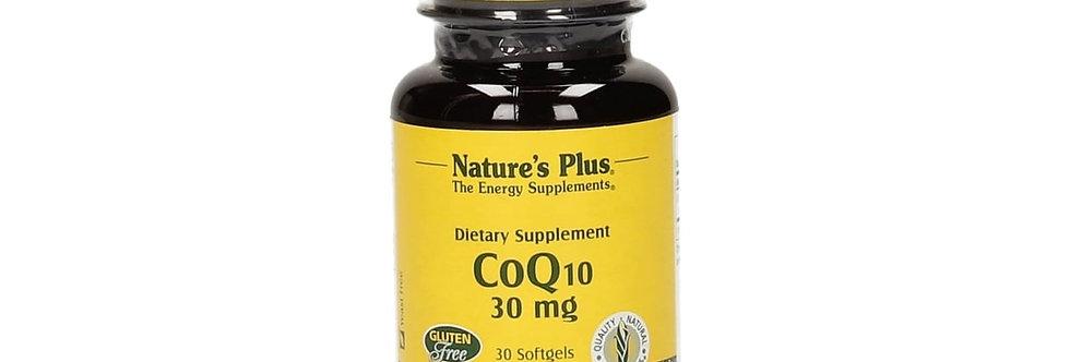 Nature's Plus  COQ10 30MG SOFTGELS 30'S