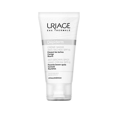 URIAGE DEPIDERM SPF 15 HAND CREAM 50ML