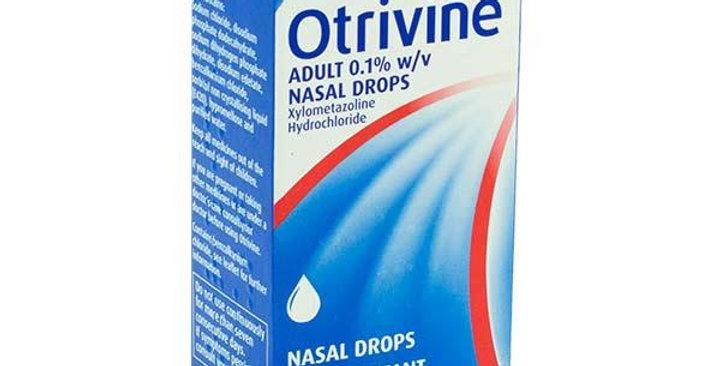 OTRIVIN 0.1% ADULT NASAL DROPS