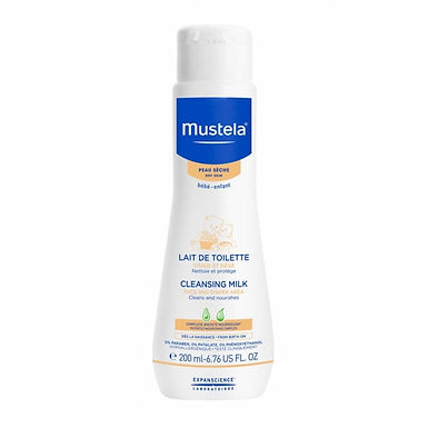 Mustela Baby Dry Skin Cleansing Milk 200ml