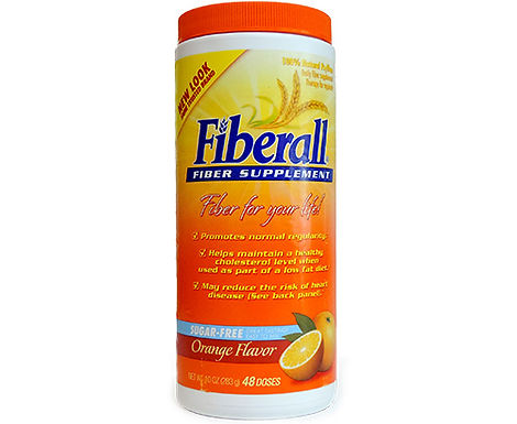 FIBERALL ORANGE POWDER 283GM