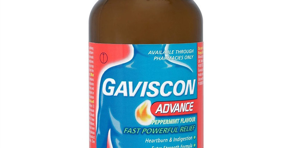 GAVISCON ADVANCE LIQUID 300ML