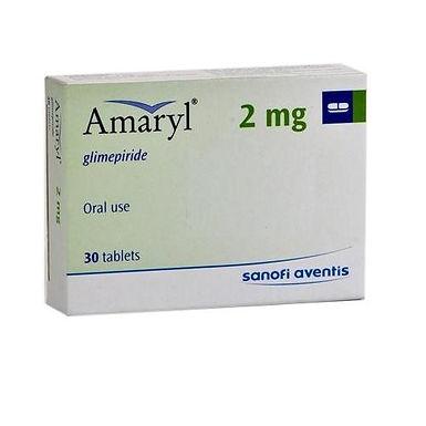 AMARYL 2MG 30 TABLETS