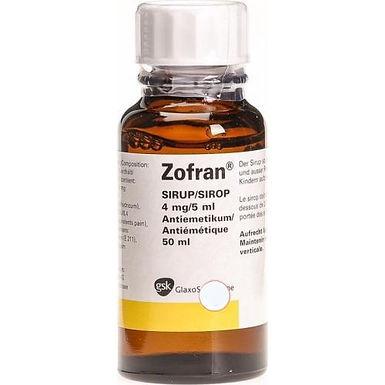 ZOFRAN 4MG/5ML SYRUP 50ML