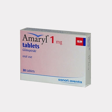 AMARYL 1MG TAB 30'S