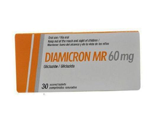 DIAMICRON MR 60MG TAB 30'S