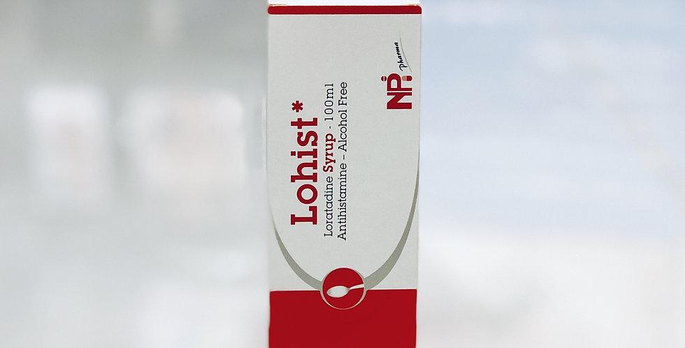 LOHIST SYRUP 100ML