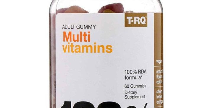 T-RQ MULTI-VITAMIN ADULT GUMMY 60`S