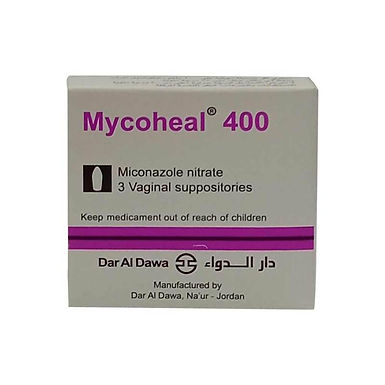 MYCOHEAL VAGINAL 400MG 3 SUPPOSITORIES