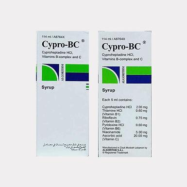 CYPRO BC SYRUP 114ML